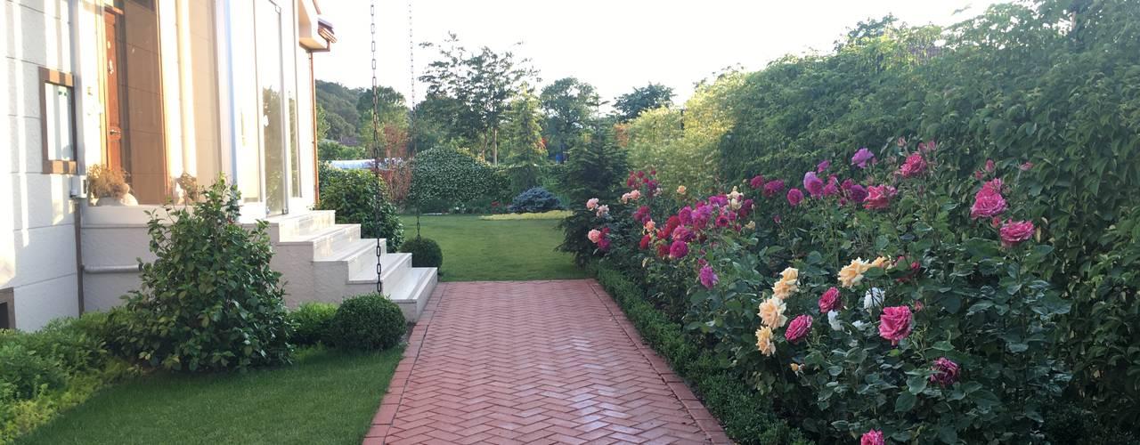 V.A ÖZEL KONUT PEYZAJ Projelendirme & Uygulama Modern Bahçe konseptDE Peyzaj Fidancılık Tic. Ltd. Şti. Modern