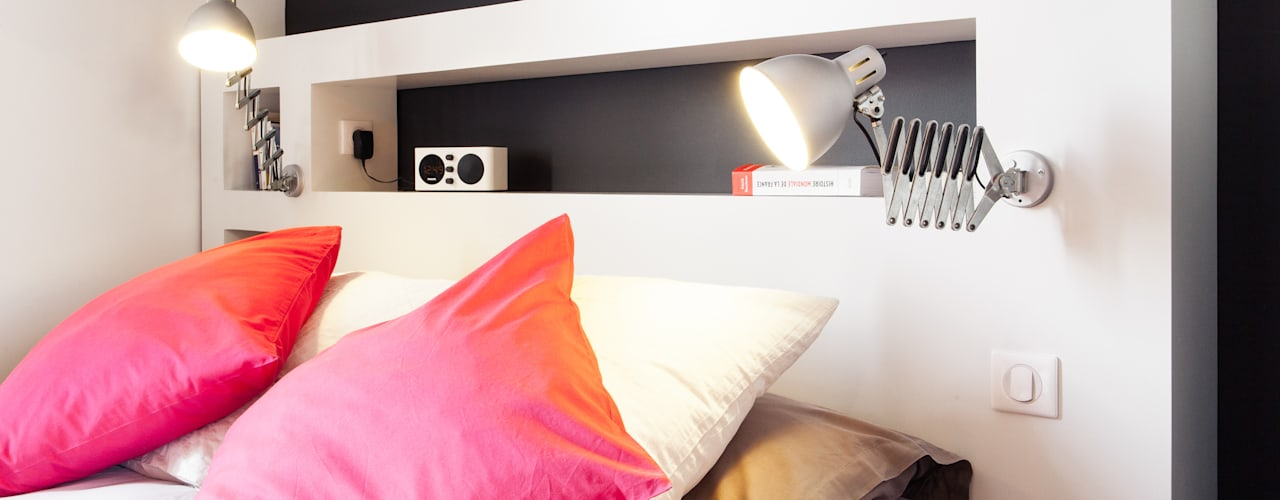 Projekty,  Sypialnia zaprojektowane przez MadaM Architecture