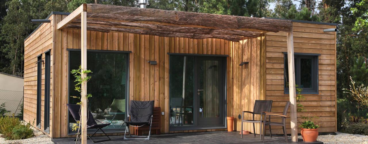 RUSTICASA Rumah kayu Kayu Wood effect