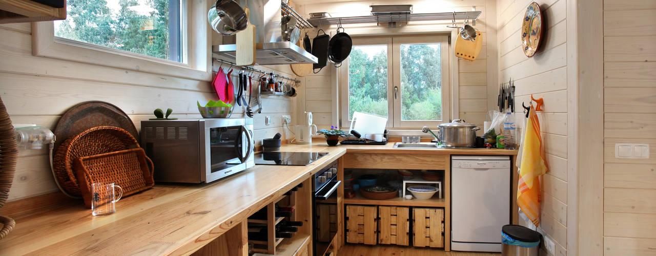 وحدات مطبخ تنفيذ Rusticasa,
