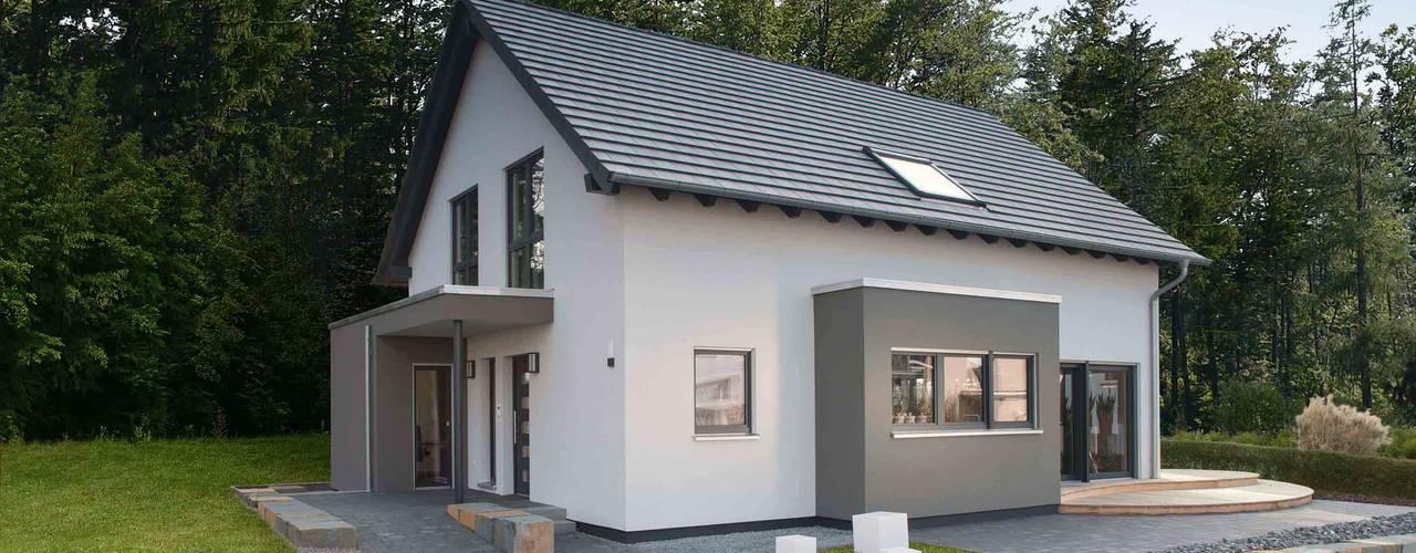 Eengezinswoning door FingerHaus GmbH - Bauunternehmen in Frankenberg (Eder), Modern
