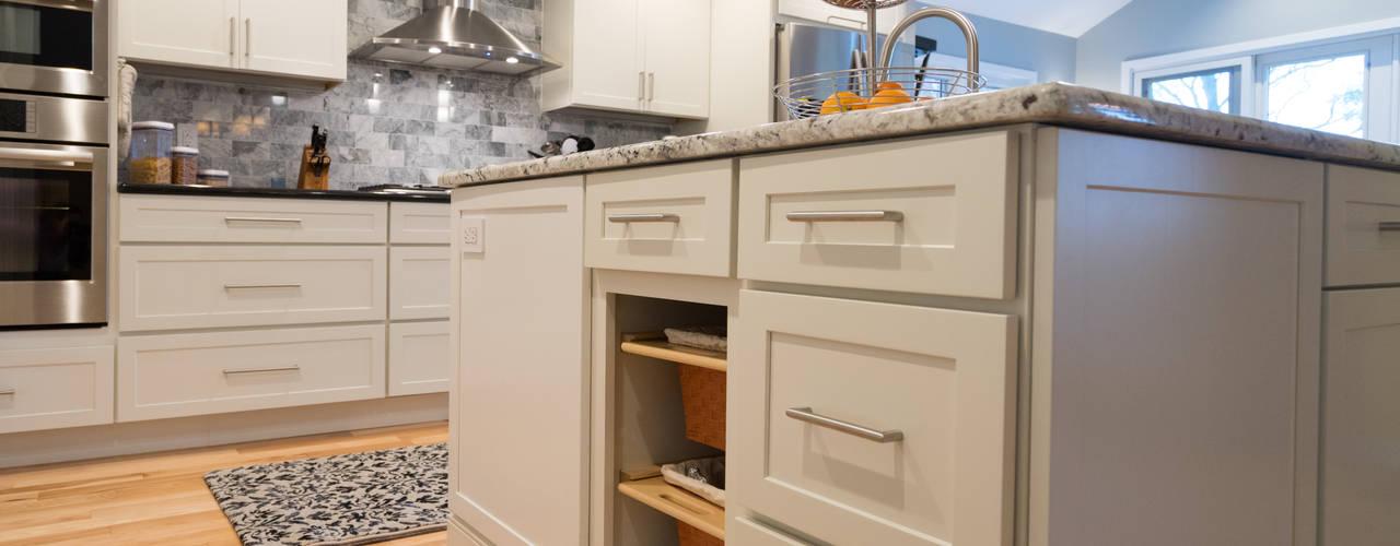 Ardmore Library Kitchen Tour Featured Kitchen by Main Line Kitchen Design Classic