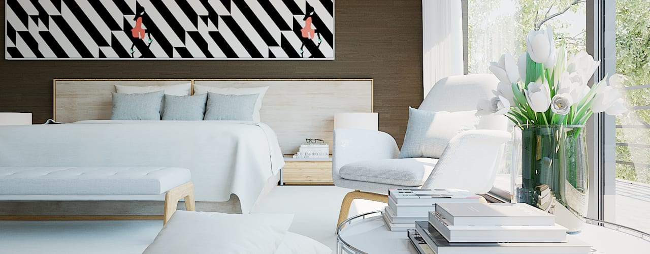 Modern style bedroom by MyWay design Modern