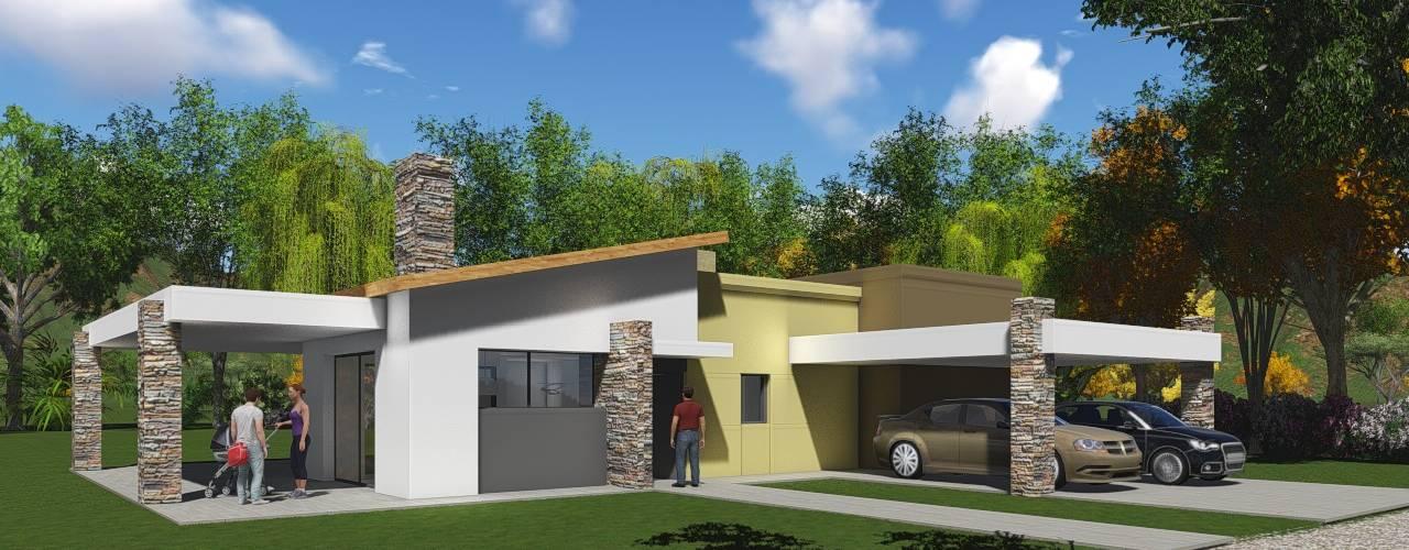 Garage/shed by Estudio de arquitectura MSM  (Mar del Plata+Balcarce+Tandil)