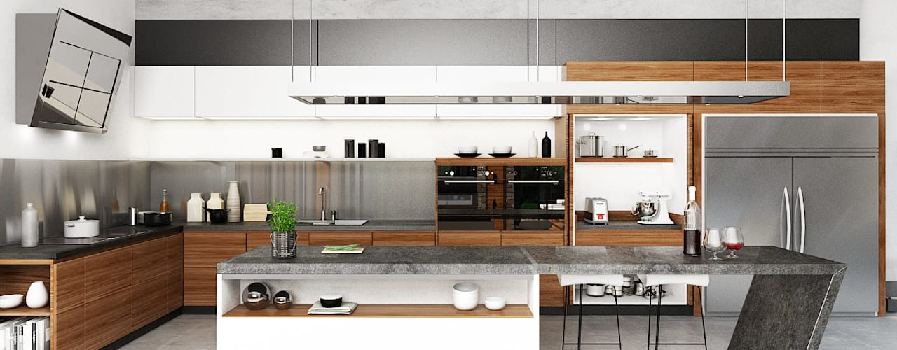 Juxta Interior Kitchen Grey