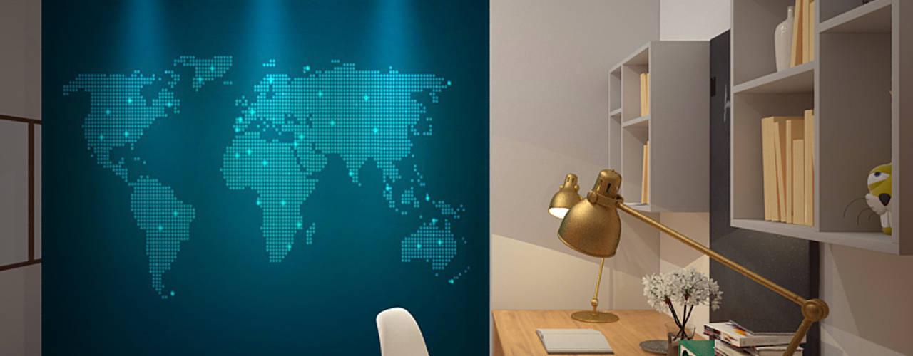 Thiết kế và thi công nội thất nhà phố tại số 12 ngõ 2 phố Tây Sơn, Hà Nội: hiện đại  by Công ty TNHH Thiết kế và Ứng dụng QBEST, Hiện đại