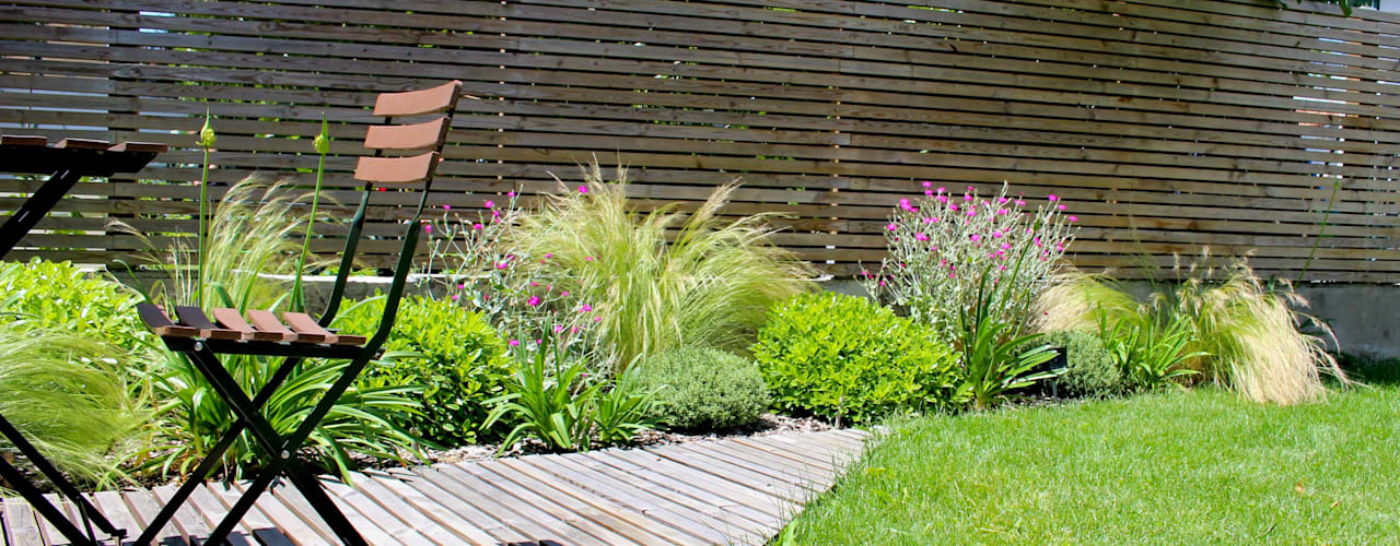 Jardines de estilo moderno de Constans Paysage Moderno