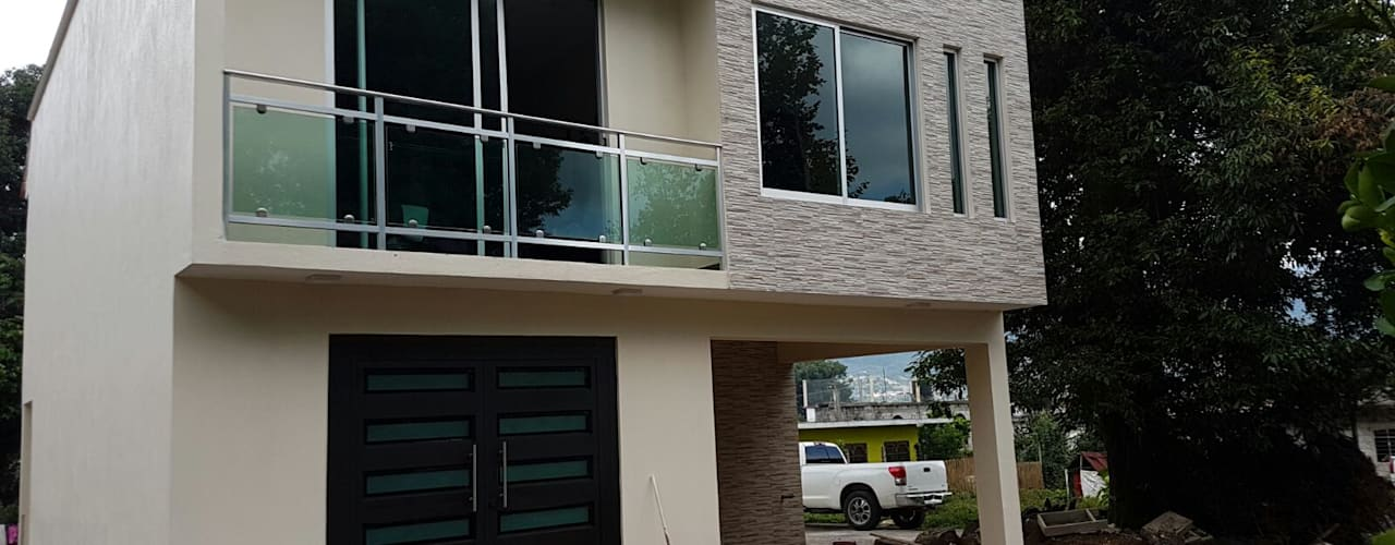Casas de estilo  por erram arquitectos