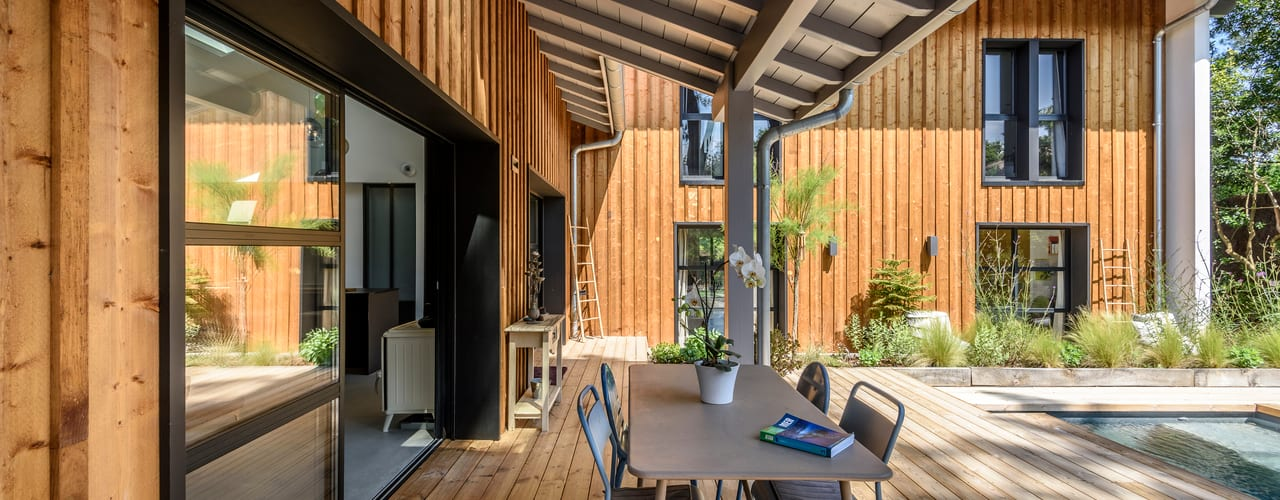 Agence CréHouse Moderne huizen