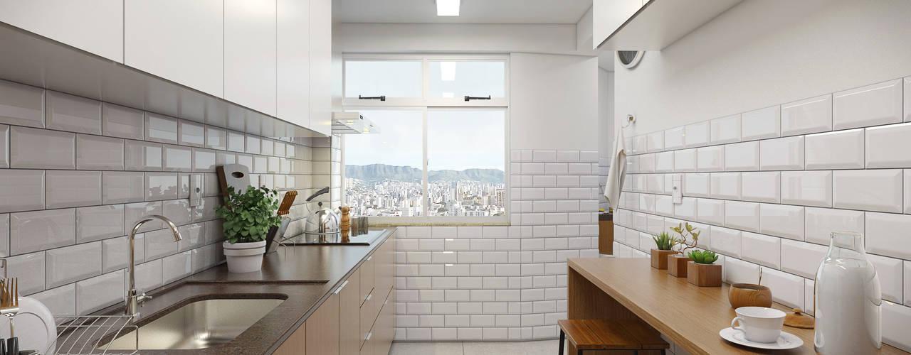 Moderne Küchen von Filipe Castro Arquitetura   Design Modern