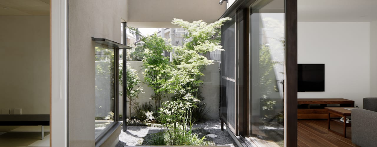 Modern style gardens by atelier137 ARCHITECTURAL DESIGN OFFICE Modern