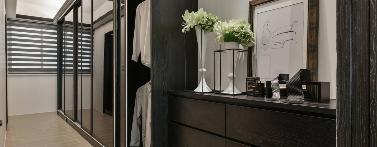 Dressing room by 存果空間設計有限公司, Modern