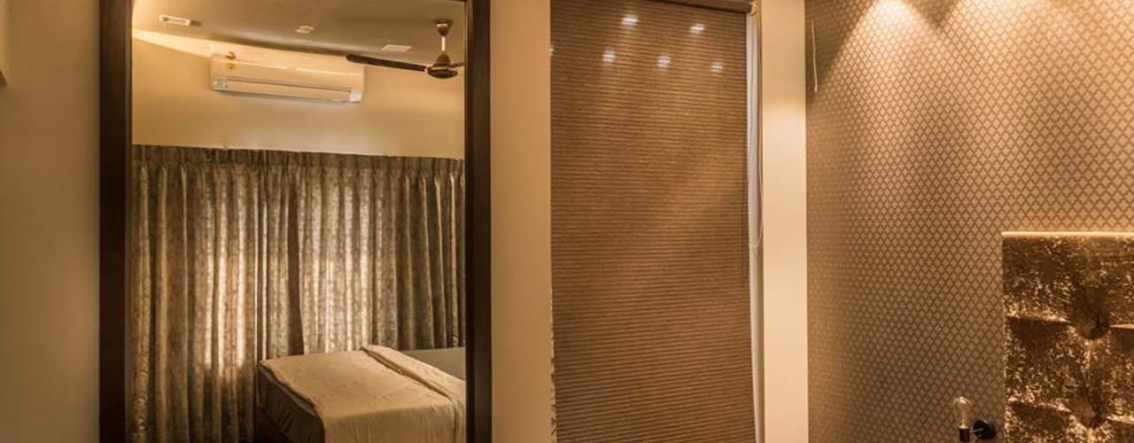 Rishi Villa - Pune Aesthetica Modern style bedroom