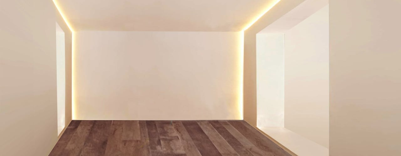 Minimalist dining room by Arch. Francesco Antoniazza - Il bello della casa ..................... di una volta Minimalist