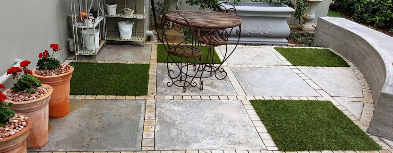 Waterkloof:  Patios by Gorgeous Gardens, Modern