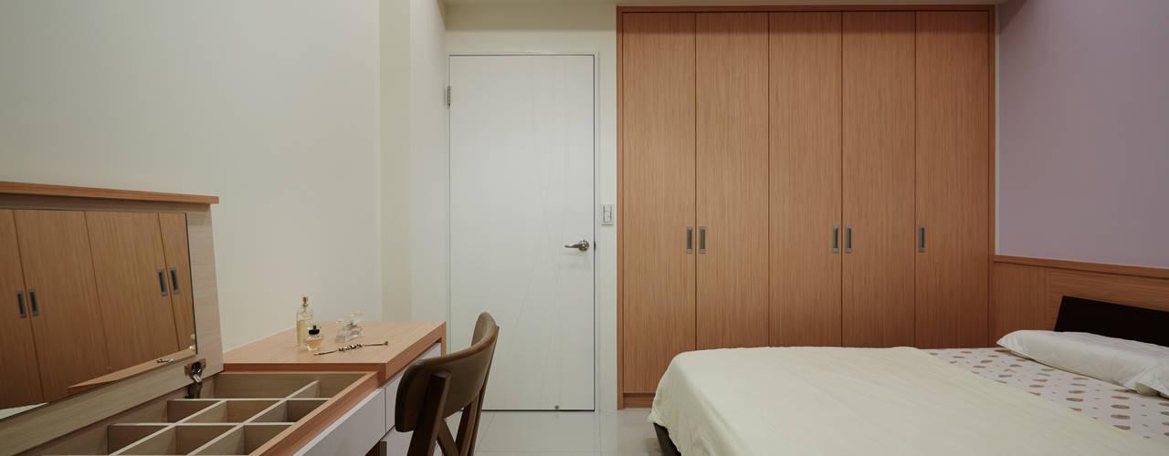 Asian style bedroom by 弘悅國際室內裝修有限公司 Asian