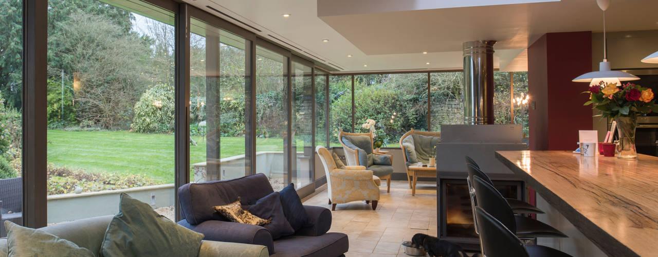 Salas / recibidores de estilo moderno por Jack Jarrett Architects