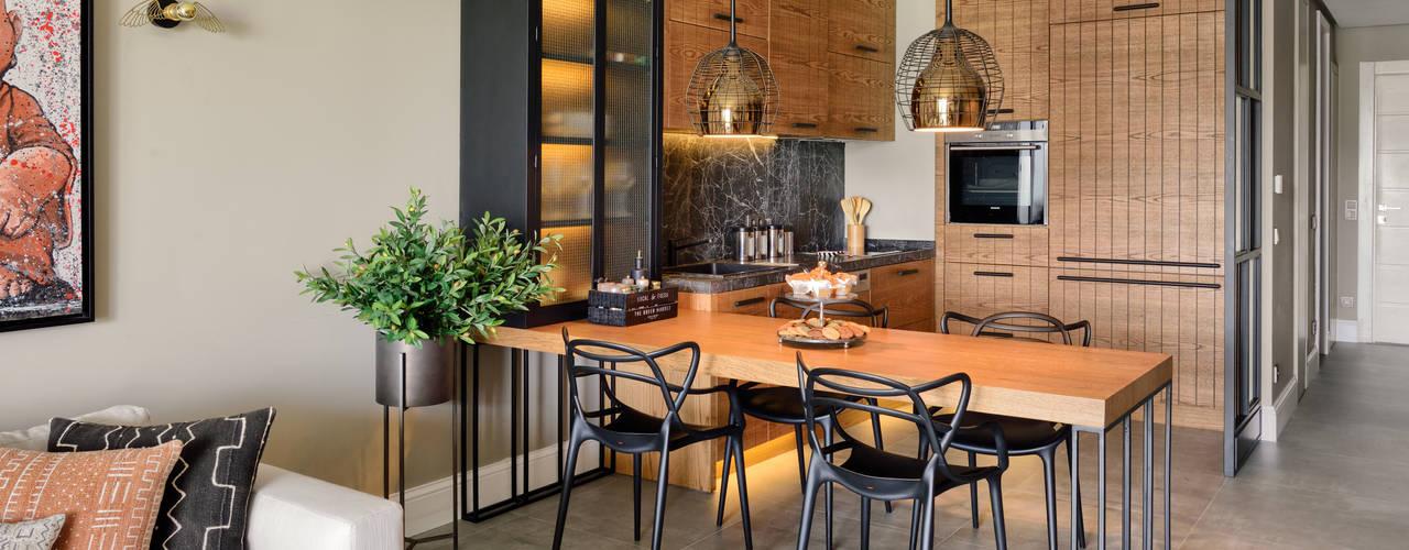 Moderne keukens van Esra Kazmirci Mimarlik Modern