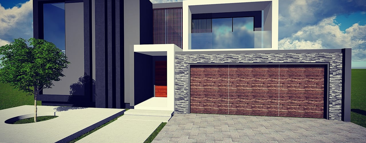 Cressentwood estate Midrand:  Houses by BlackStructure,