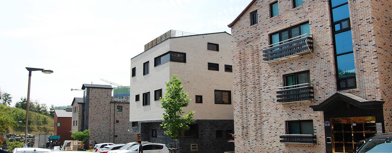 다담하우스_부천시 소사구 범박동 207-6 다가구주택 AAG architecten 모던스타일 주택