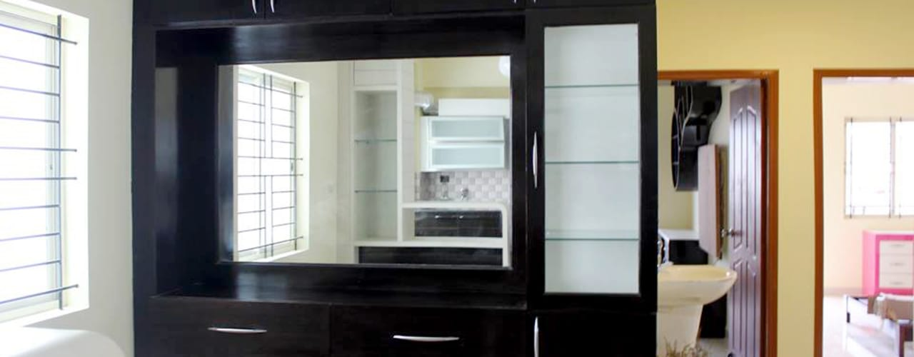 Crockery Cabinets Online India: asian Dining room by Scale Inch Pvt. Ltd.