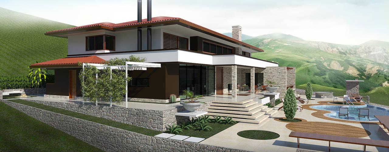 Nhà by UNICA Arquitetura