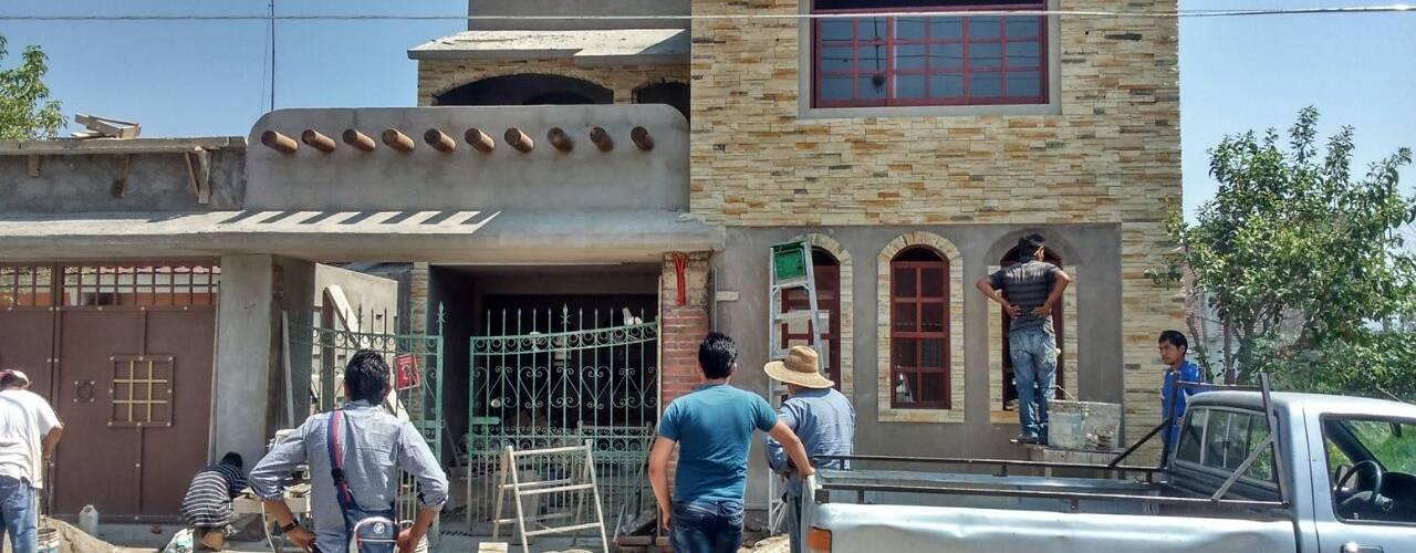 Casa j-Carlo:  de estilo  por LUBAAL construcción y arquitectura