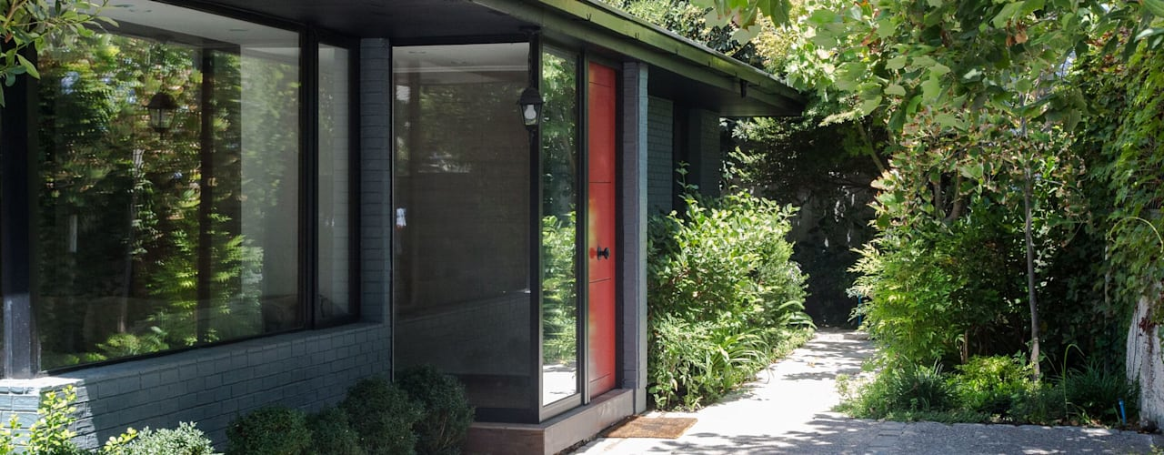 RENOarq 現代房屋設計點子、靈感 & 圖片 磚塊 Grey