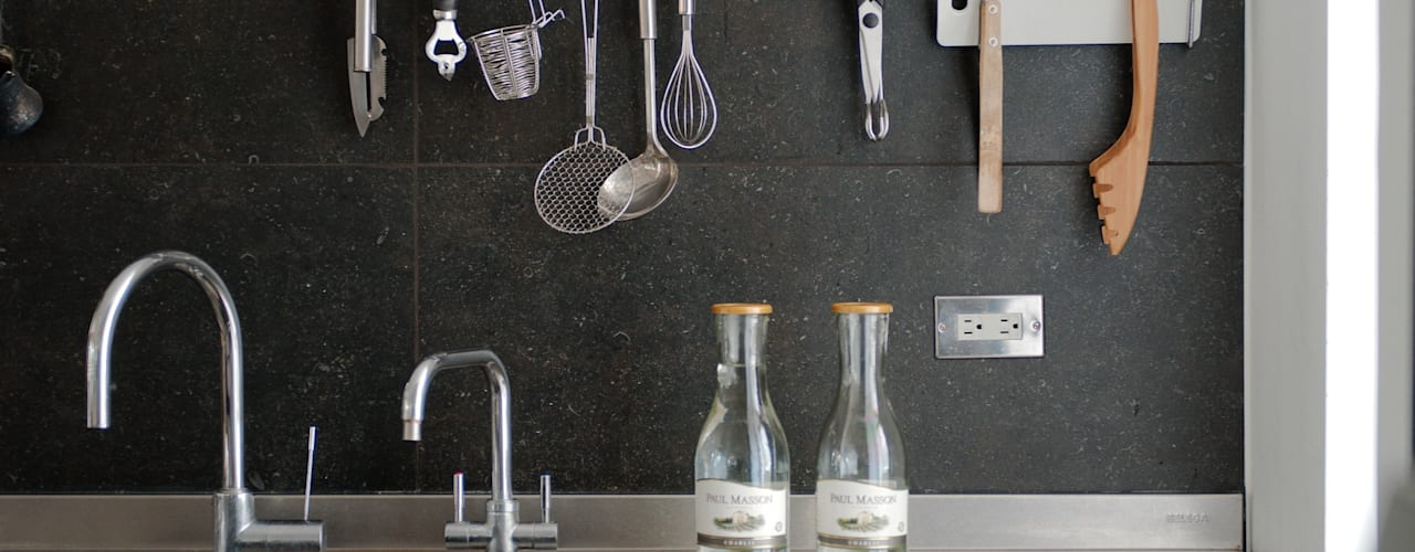 Kitchen by 直方設計有限公司, Scandinavian