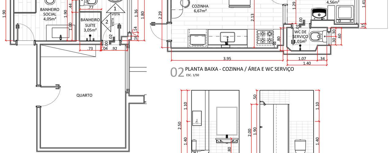 Residência MC:   por LV Arquitetura,Escandinavo