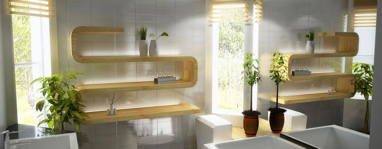 Baños de estilo moderno de F&M Dizayn - Mobilya & Dekorasyon Moderno