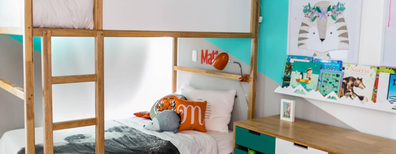 Modern nursery/kids room by Little One Modern