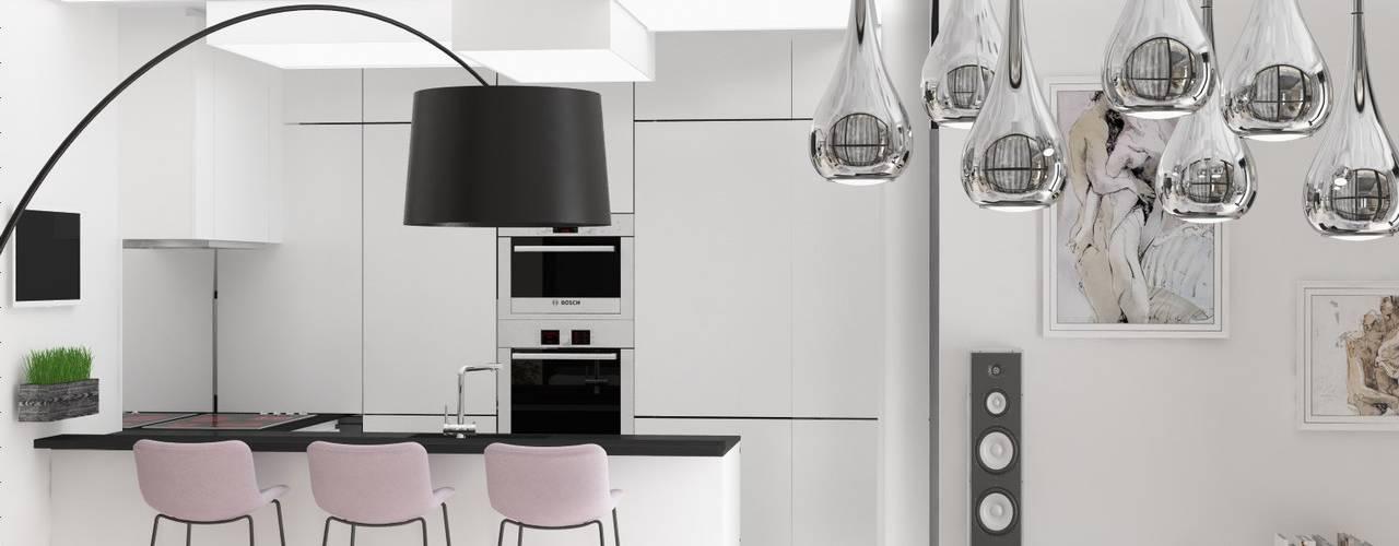 Кухня в стиле минимализм от Anastasia Yakovleva design studio Минимализм