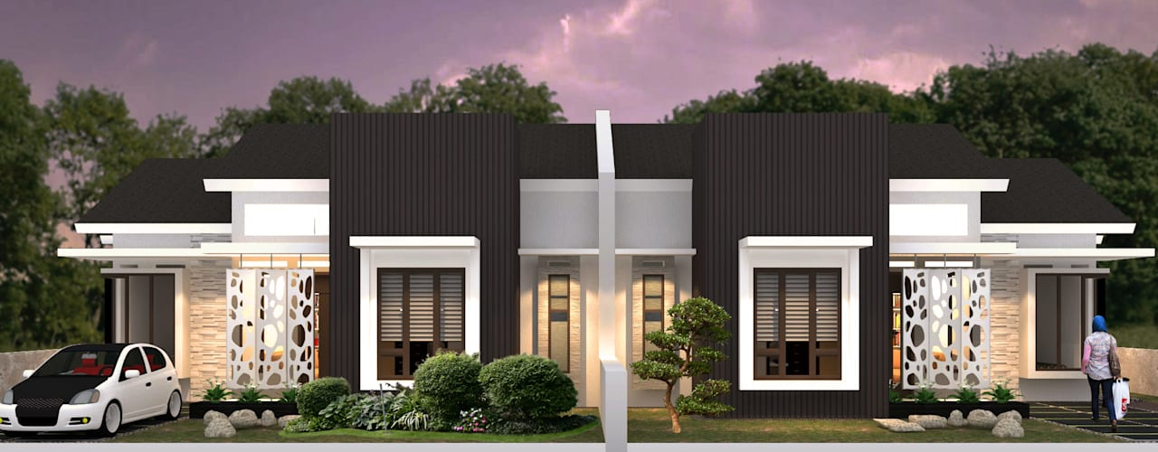 Modern houses by Axis Citra Pama Modern