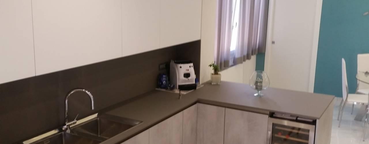 Cocinas de estilo moderno por ARCHITÈ