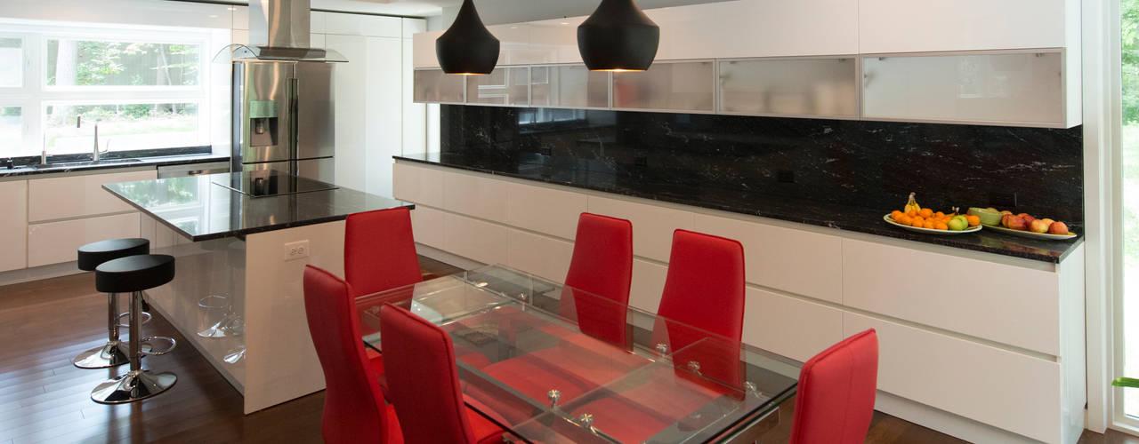 Salas de jantar modernas por ARCHI-TEXTUAL, PLLC Moderno