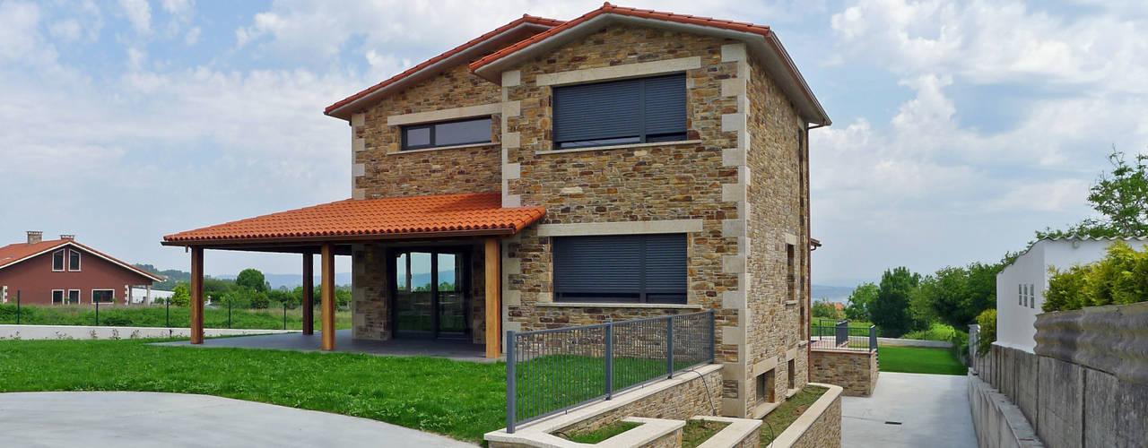 Casas de estilo rústico de AD+ arquitectura Rústico