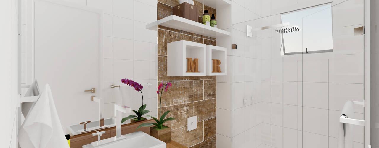 Baños de estilo  por Patricia Moreno A R Q U I T E T U R A