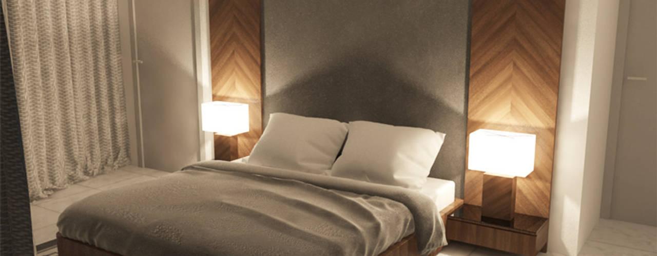 SB Arquitectos Estudio Chipotle Dormitorios modernos