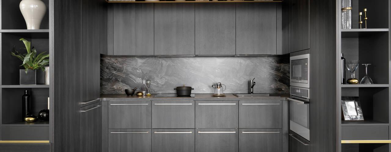 Die im Wohnregal versteckte Küche:   von Schmidt Küchen