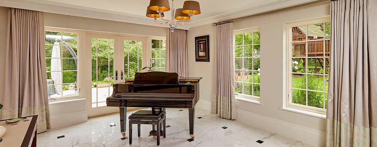 Ultimate Aluminium Clad Wood Casement Windows من Marvin Windows and Doors UK حداثي