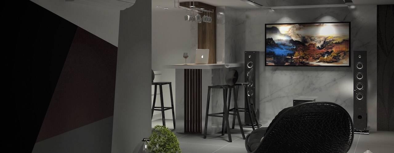 3D示意圖1:  廚房 by VH INTERIOR DESIGN