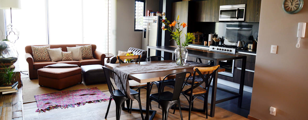 Erika Winters Design Modern dining room