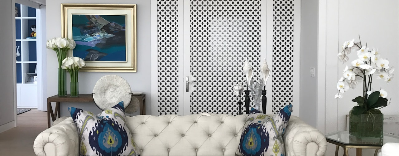 Eclectic style living room by Ecologik Eclectic