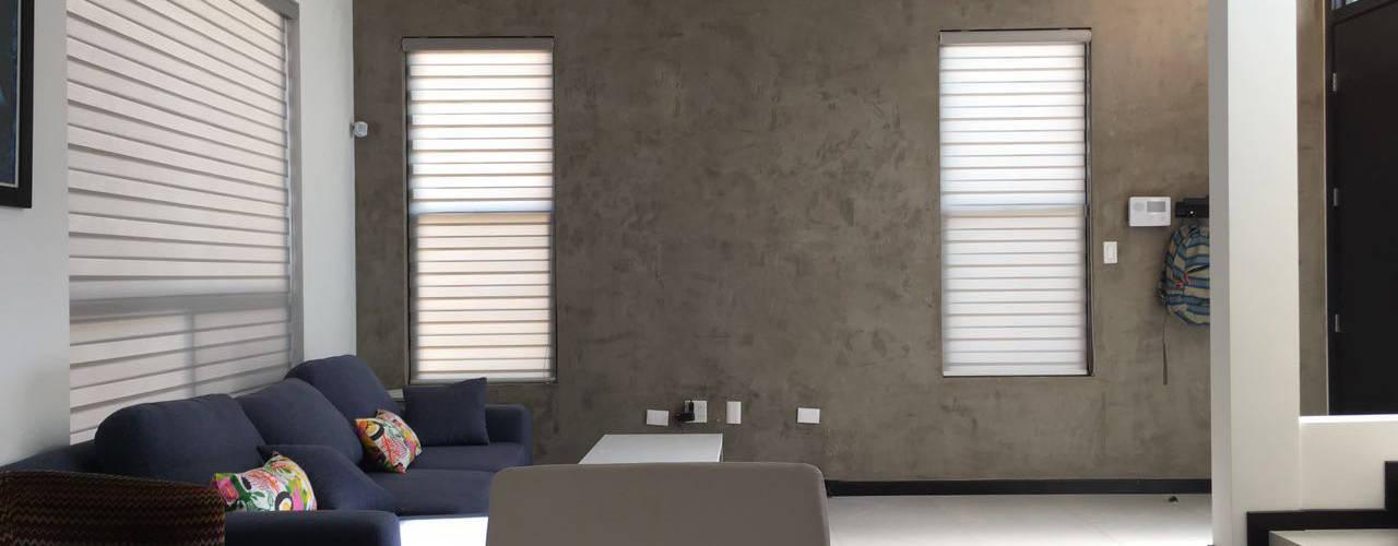 Emplaste Acabado concreto Pulido Pitaya Paredes y pisos de estilo industrial Concreto Gris