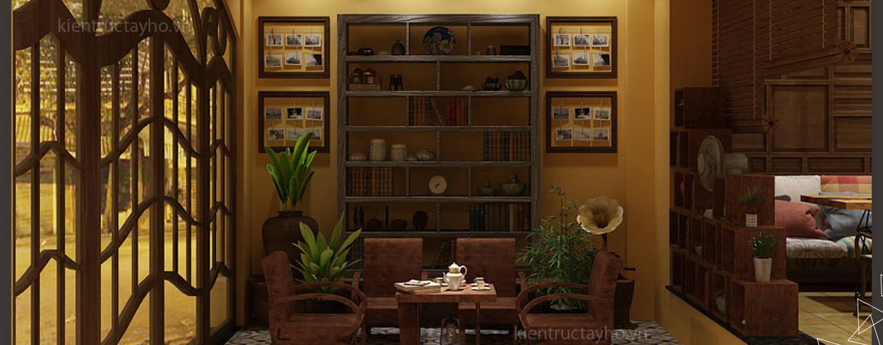 Phòng ăn phong cách mộc mạc bởi homify Mộc mạc
