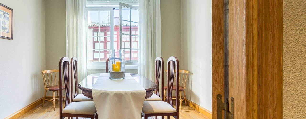 Salas de jantar  por CCVO Design and Staging