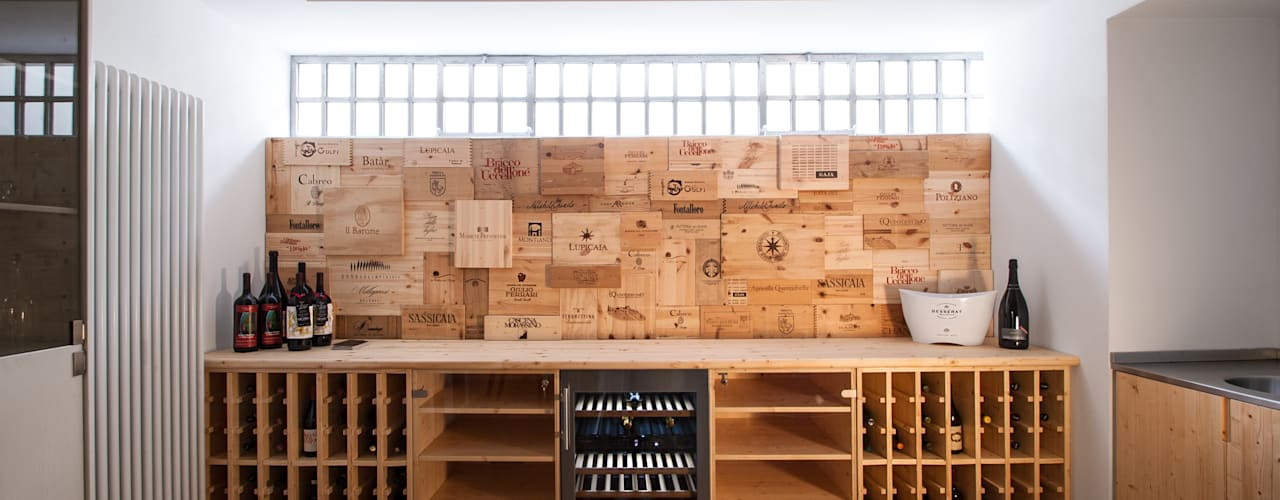 Wine cellar by Chantal Forzatti architetto, Modern