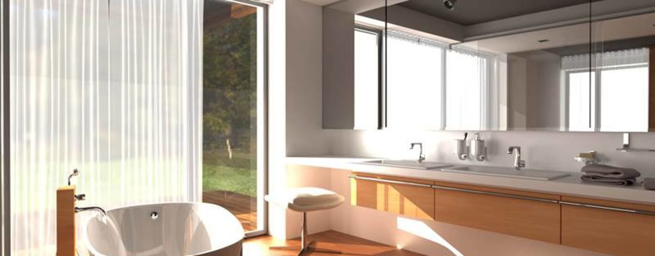 Salle de bain moderne par Plug Studio Moderne