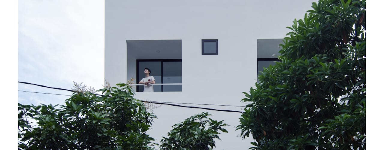Nhà phong cách tối giản bởi studiopapa Tối giản